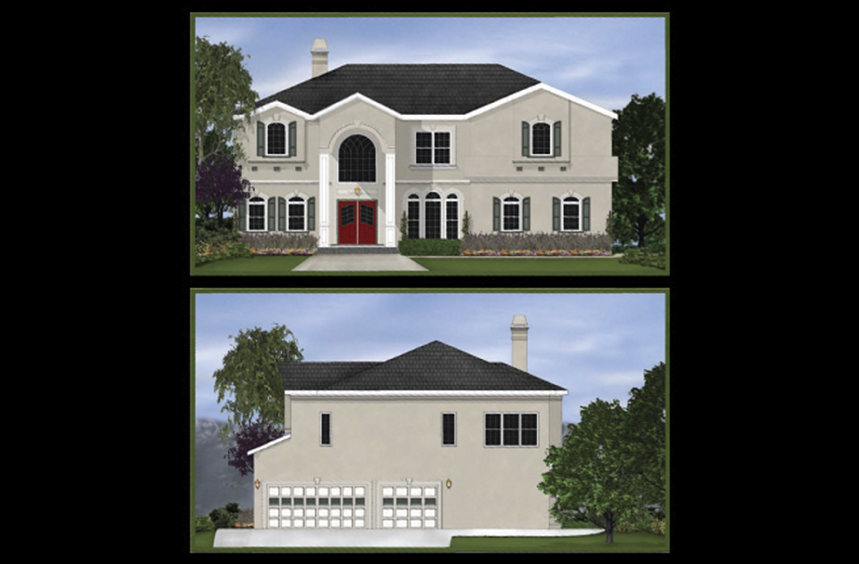 Illustration | Loera Homes - Architectural Rendering 2