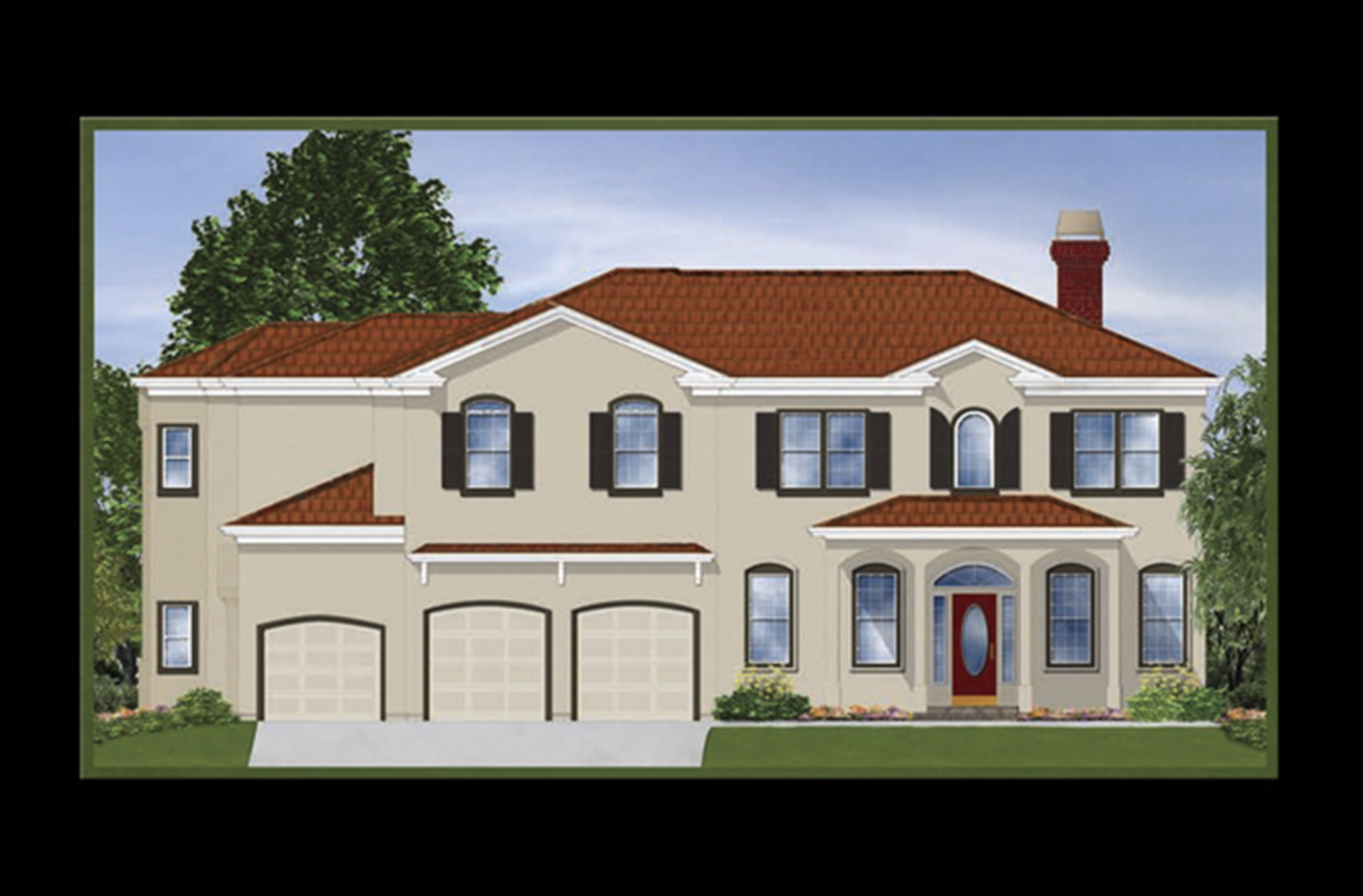 Illustration | Loera Homes - Architectural Rendering 1