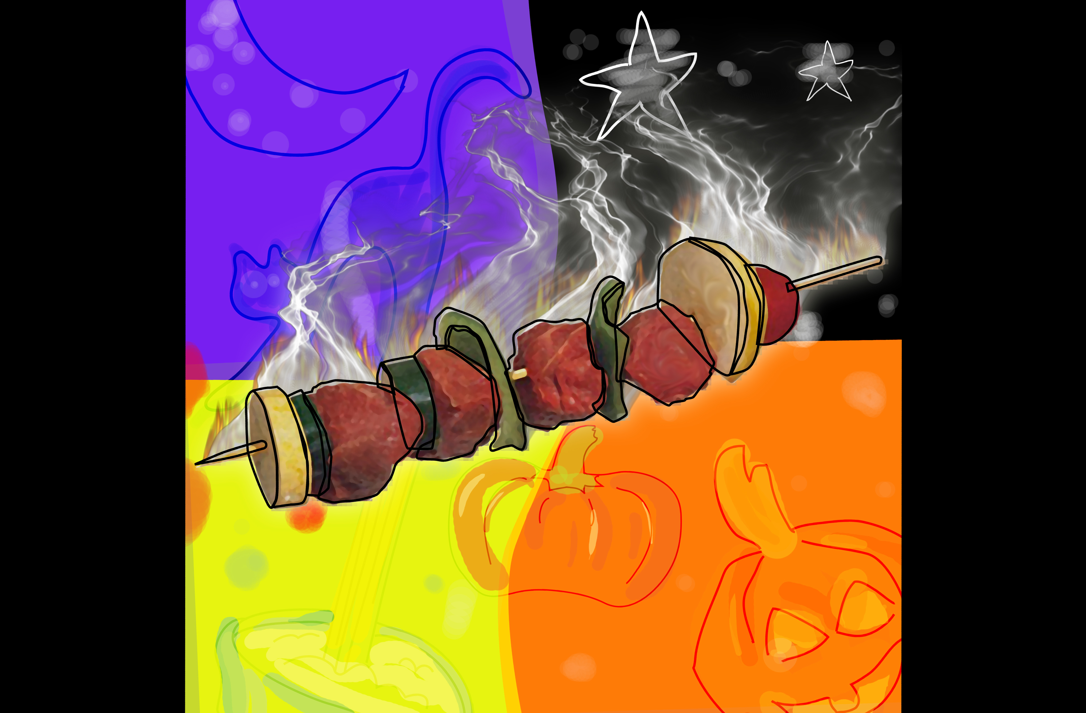 Illustration - CarbLite - Halloween Featured Image