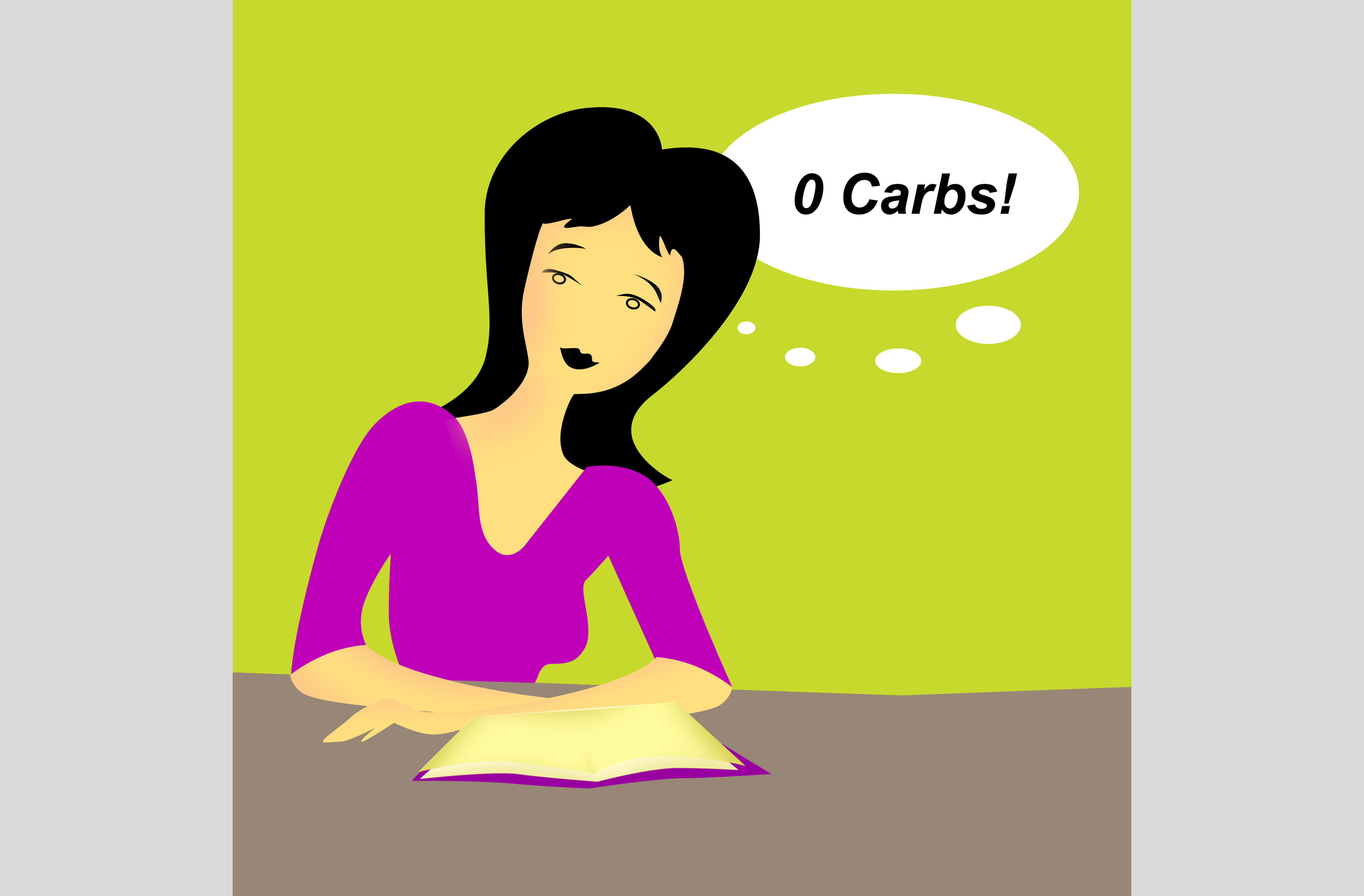 Illustration - CarbLite - Zero Carbs