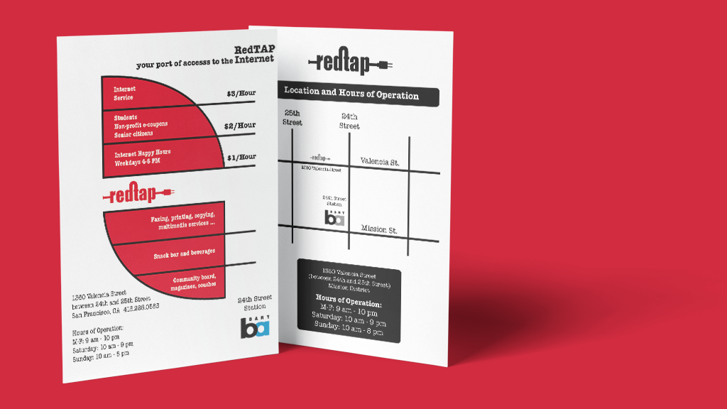 Brand Identity | RedTap | Collateral