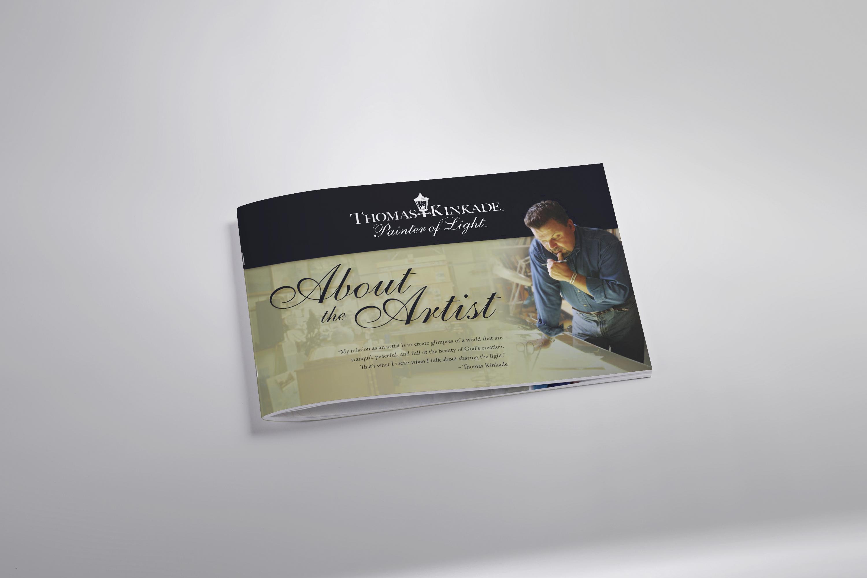 Print Design | About the Artist - Thomas Kinkade Cover
