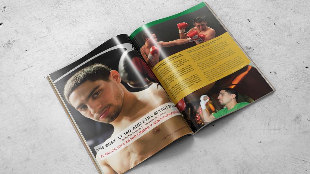 Print Design   Primer Round Magazine Cover Story