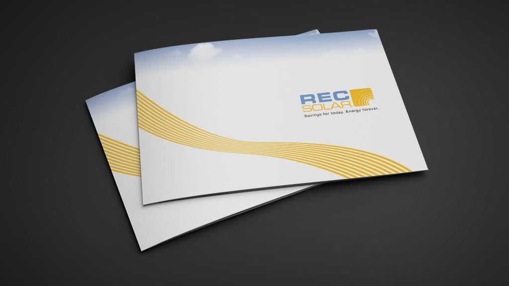 Print Design | REC Solar Brand Manual