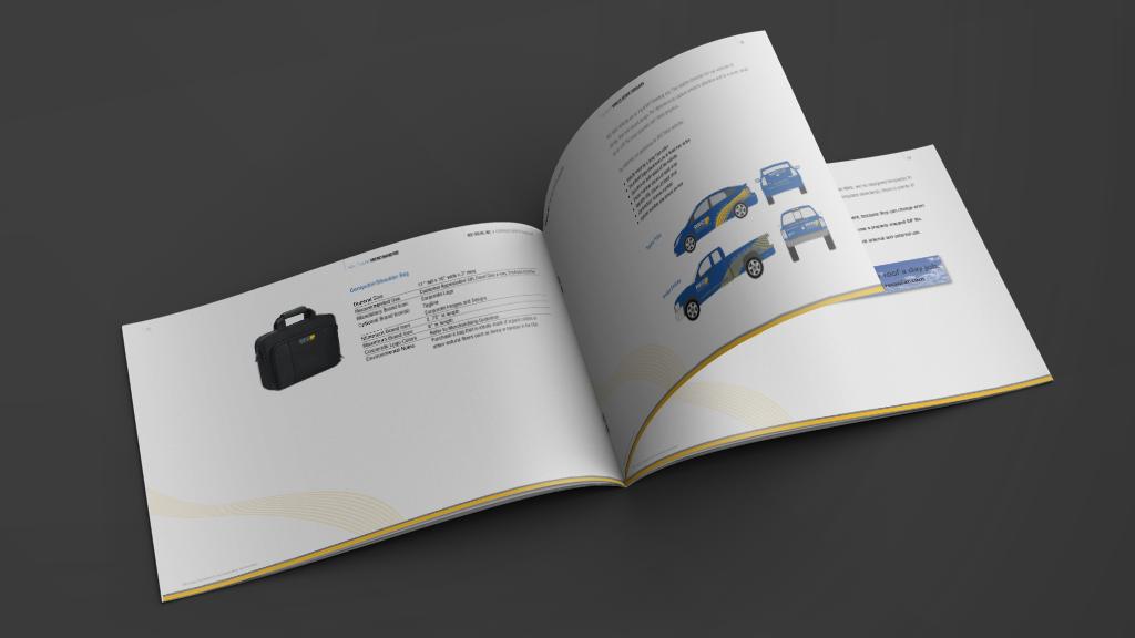 Print Design | REC Solar Brand Manual Logo Guidelines