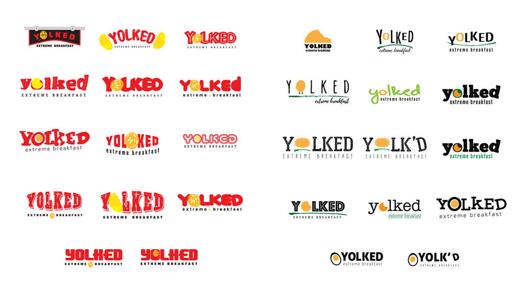 Brand Identity | Yolked Extreme Breakfast Concepts